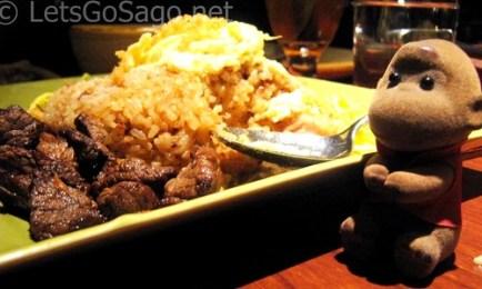 Sentros Bagoong Rice with Sago :)