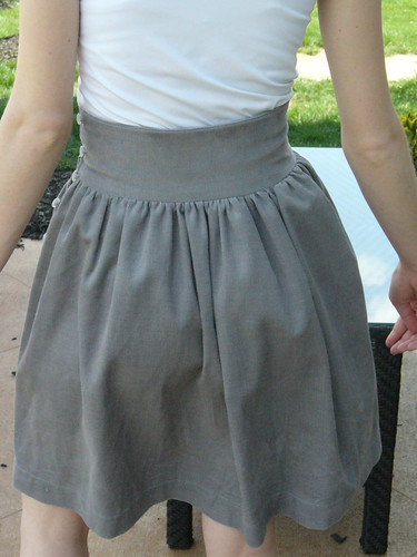 Cord Skirt 2