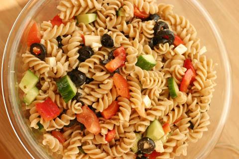 Greek Salad (pasta)