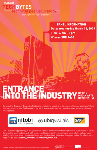Entrance into the Industry: Design, Media Arts, and Informatics
