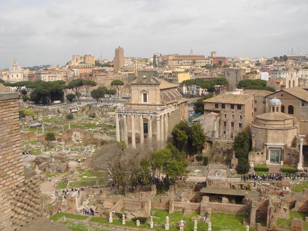 Panorámica Foros Romanos