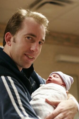 Alex and Baby Caitlin