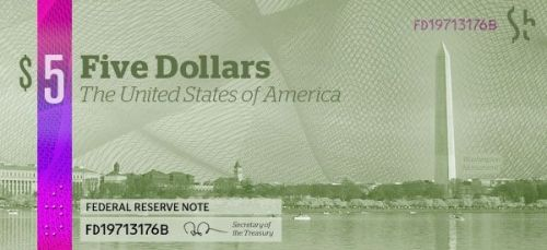 dolar 5 trasera