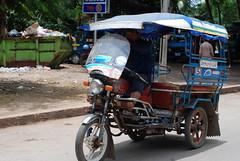 A Laos tuk tuk