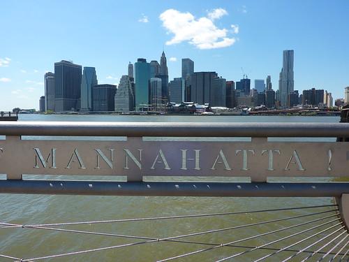 Manhattan as seen from Brooklyn