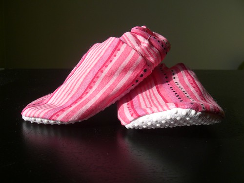 candy stripe shoes