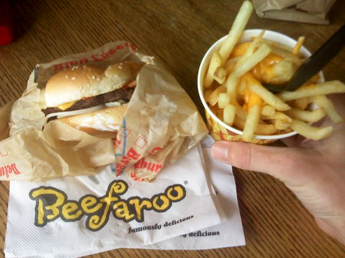 Lunch from Beefaroo
