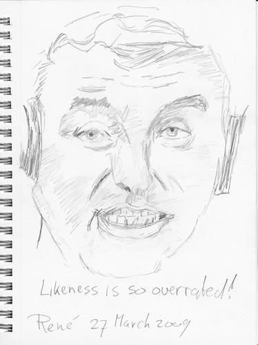 Drawing Leo Laporte - TTG 2009-03-28 A