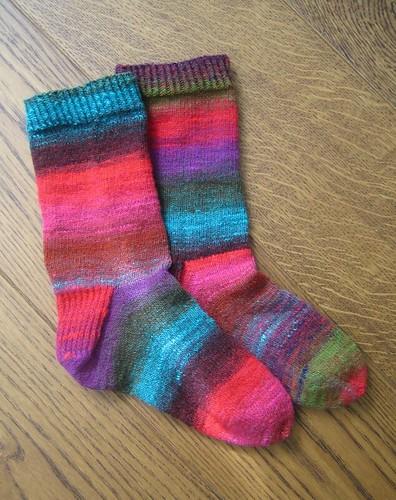 Noro Kureyon socks