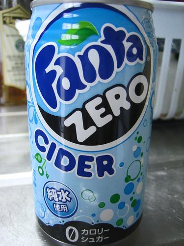 Fanta Zero Cider por murasaki-sama.