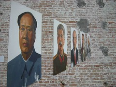 Pop-art Representations of Chairman Mao at Factory 798