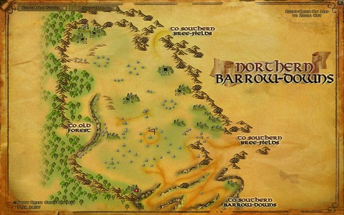 Map - North Barow-Downs 001