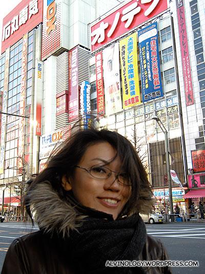Rachel Chan @ Akihabara