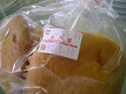 Carnation cupcakes 1