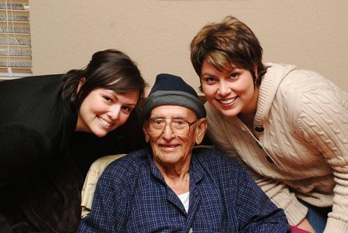 Sis, Grandpa, And Me
