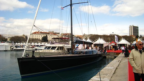 The yacht...
