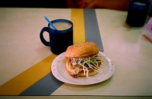 [Tainan]哈利漢堡之漢堡加蛋