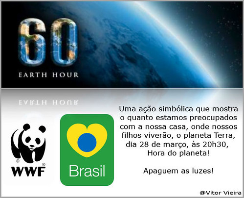 Hora do Planeta - Earth Hour por VtR Dudu.
