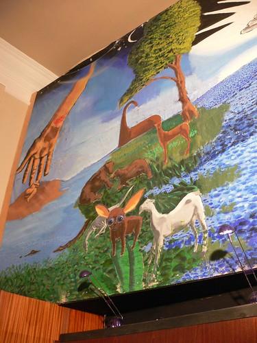 Mural at Genesis Expo