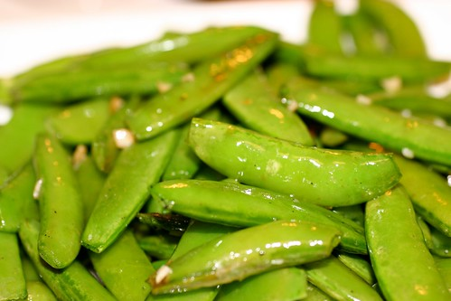 Garlic Snap Peas