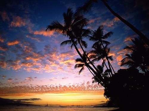 Afterglow, Hawaii