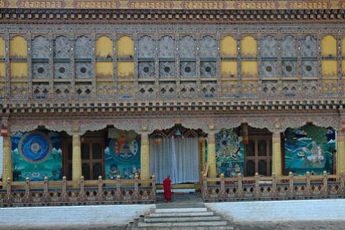 The Kuenrey of the Punakha Dzong