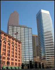Skyscraper Walk, Downtown Denver