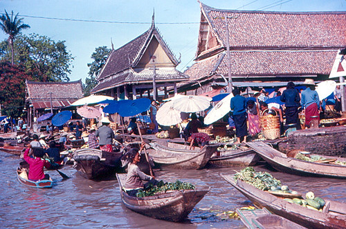 Un vecchio Floating Market (foto del 1967)