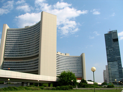 The UN office in Vienna by you.