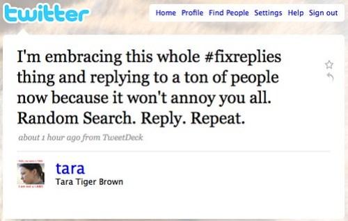 Twitter / Tara Tiger Brown: I'm embracing this whole # ...
