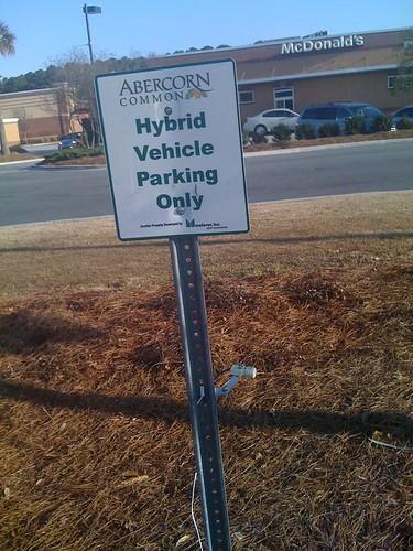 Hybrid parking