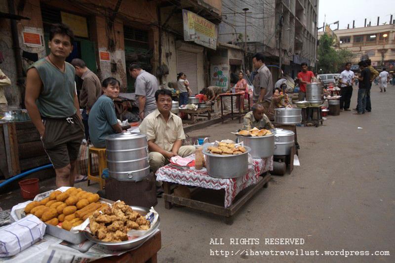 Sun Yen Sen Street selling Chinese Breakfast