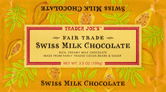 Trader Joe's Fair Trade Swiss Milk Chocolate