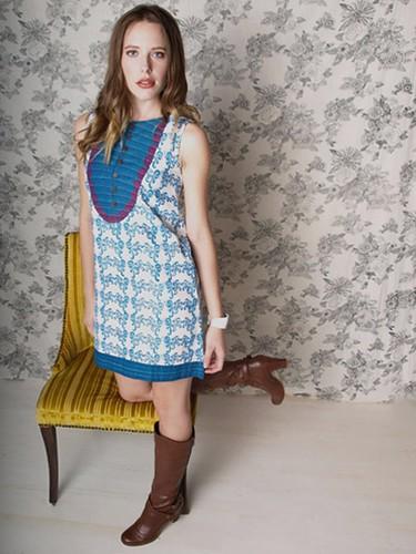 Mata Traders - dress_boulevard_blue
