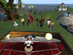 Dancing To HatHead's live Music