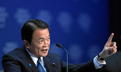 Taro Aso - World Economic Forum Annual Meeting...
