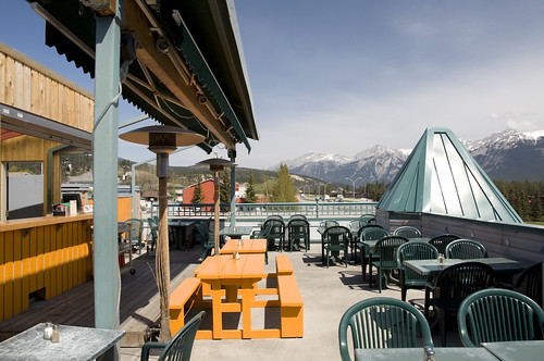 Rooftop Patio at Jaspers Pizza Place