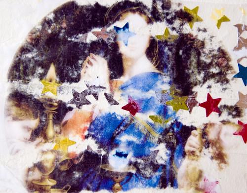 vierge faisant l'étoile