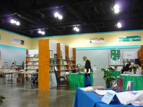 Empty book fair