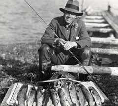 Crown Prince Leopold of Sweden Trout Fishing (...