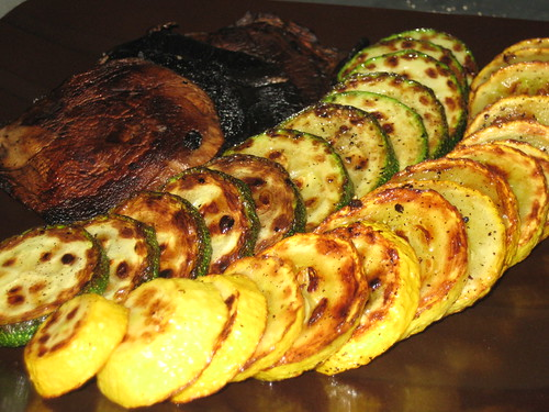 Pan-Grilled Vegetables