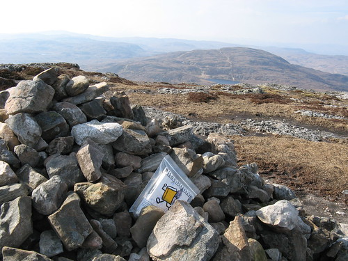 Bookcrossing on Meall Fuar-Mhonaidh