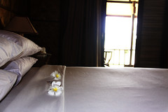 Room at Sunny Paradise Resort, Ngwe Saung, Myanmar