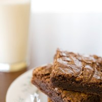 Peanut Butter & Nutella Brownies