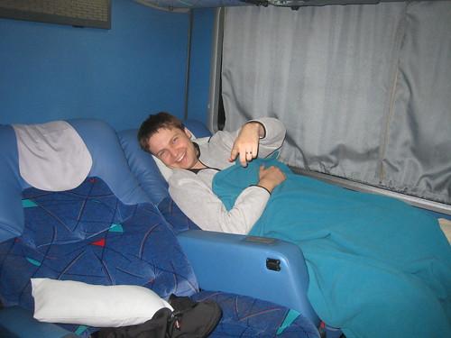 Overnight bus to La Serena