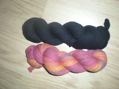 Swedish Yarns for some Fingerless Mitts