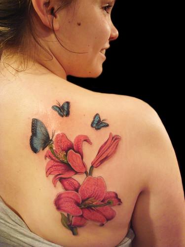Beautiful Flowers Tattoo Designs Inspiration