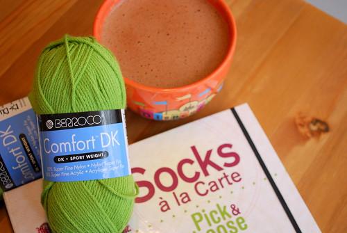 socks! and coffee!