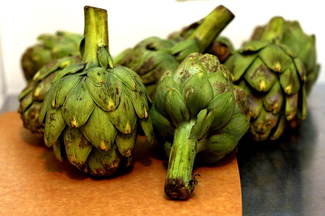 busted artichokes