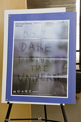 National Poetry Month poster